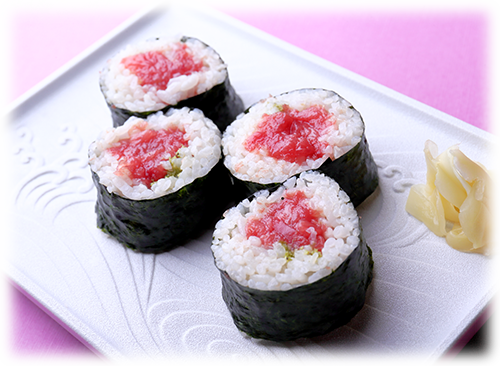We invite you to try our Tekka-maki Sushi Rolls